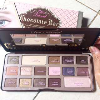 Too Faced Chocolate Bar E/S Palette