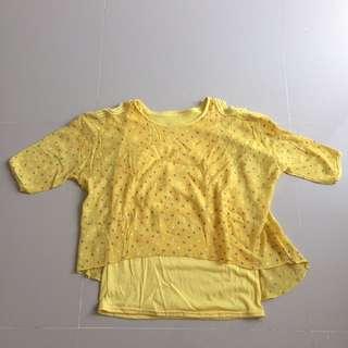 Kawaii Yellow Top