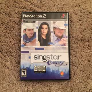 Singstar Country For PS2