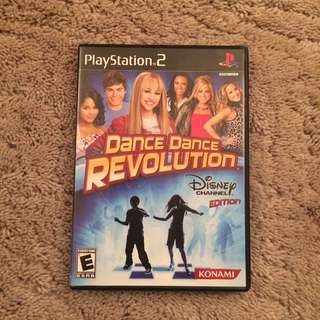 Dance Dance Revolution Disney For PS2