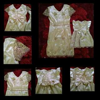 Dress Couple Mom N baby