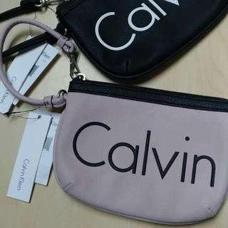 Authentic Calvin Klein Pouch