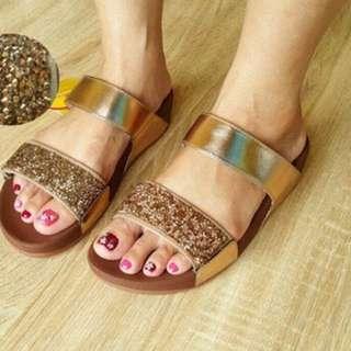Sandal Fitflop Swarovski Slide Women