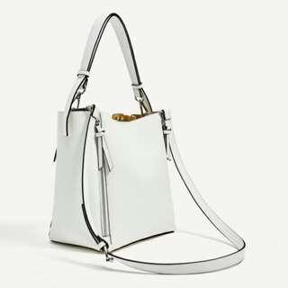 Zara Double Side Zip Set Pouch Bag