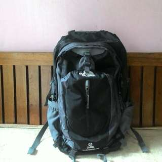 NORTH FACE 50L BAG