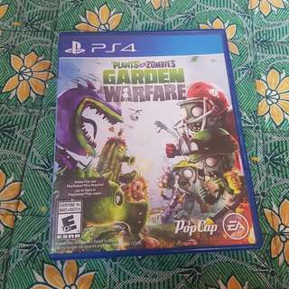 PVZ Garden Warfare PS4 For Sale Or Swap