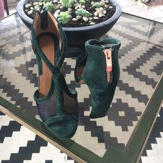 Ginger And Smart Emerald Heels