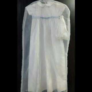 Long Baby's Baptismal Dress
