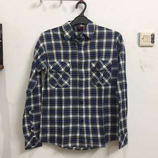 Blue/Purple Flannel Plaid Shirt