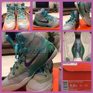 Kobe Bryant IX Elite Basketball Shoes Size US 5.5 Y