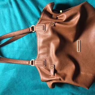 Esprit Brown Leather Bag