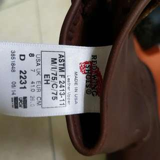 BN Red wing Pecos (Authentic)