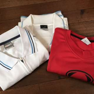 Nike DRI FIT Polo And T Shirt As Pack