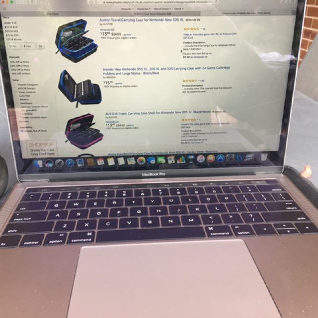 13 inch MacBook Pro with TouchBar 512GB SSD