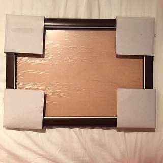 木紋質感相框
