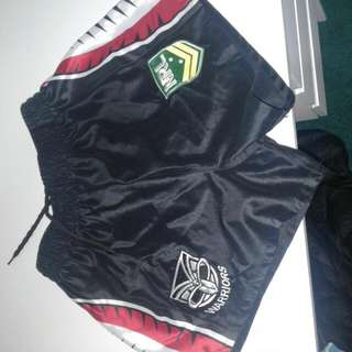 Warriors NRL Shorts