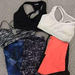 GYM CLOTHES SET OF 3