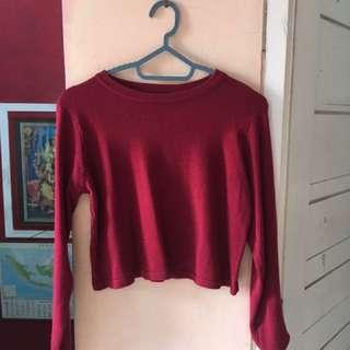 Knit Crop Top