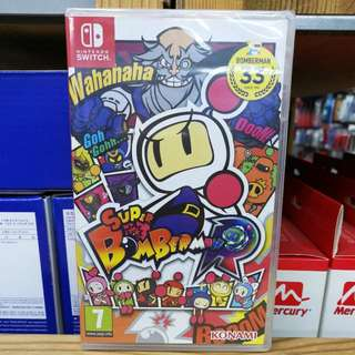 (Brand New) Nintendo Switch Super Bomberman