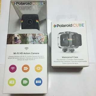 寶麗萊Polaroid Cube Plus迷你運動攝影+防水盒