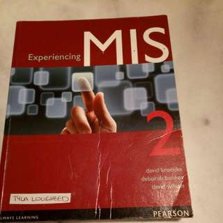 Experiencing MIS textbook