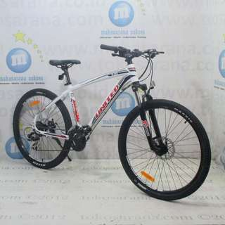 Kredit Cukup KTP 26in United Miami 200 21 Speed Disc Sepeda Gunung