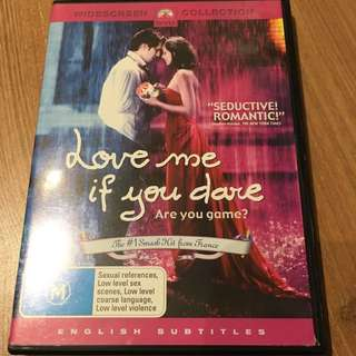Love Me Of You Dare (French With Englis Subtitles) DVD