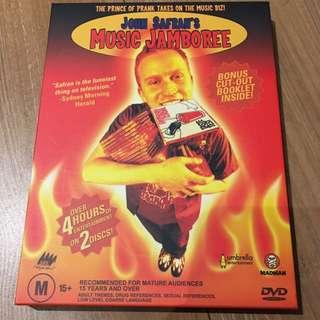 John Safran's Music Jamboree Box Set DVD