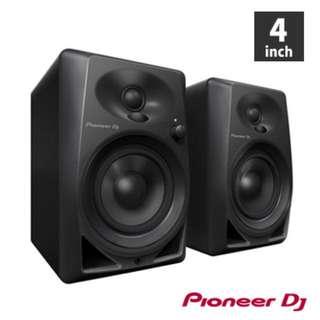 低價販售Pioneer DM-40 主動式監聽喇叭 4吋