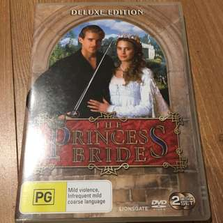 Princess Bride Deluxe Edition DVD