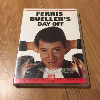 Ferris Bueller's Day Off DVD