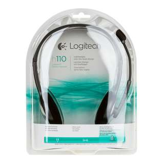 NEW! LOGICTECH STEREO HEADSET H110