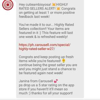 5th Time :) Thanks Carousell