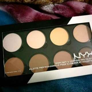 NYX ☄ Contour & Highlight Palette