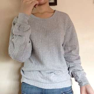 Repriced Gray Sweater