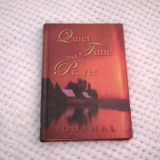 Quiet Time Prayer Journal