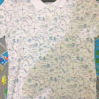 Kaos Polo Tangan Pendek Cowok - Pull And Bear Original - Casual Fit