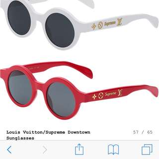 LV supreme downtown sunglasses