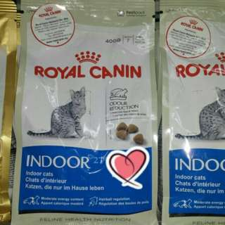 ROYAL CANIN 400G INDOOR 27 ORIGINAL FRESH PACKS