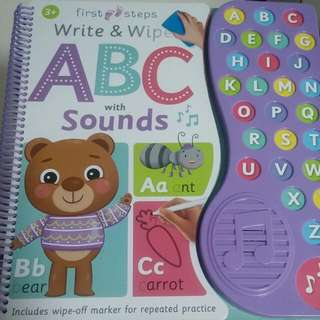 PL Write & Wipe ABC with Sounds