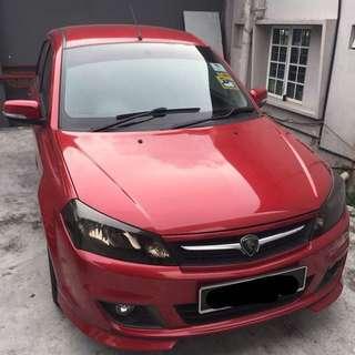 Saga Flx 2016 Car Rental / Kereta Sewa