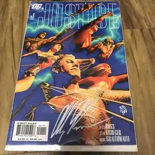 Justice #1 Signed