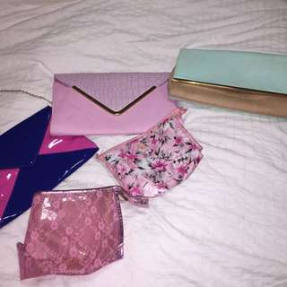 MAKE UP BAGS / CLUTCHES