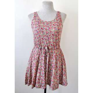 Cotton Floral Dress