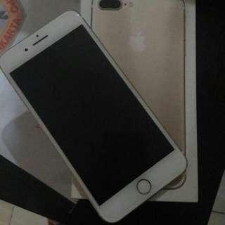 Di Jual IPhone 7Plus 256GB Gold,, Harga Rp. 8.400.000,- Kondisi Barang Mulus 99% Gak Ada Minus Minat Silahkan Chat!!!