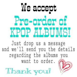 PRE-ORDER of OFFICIAL K-POP MERCHANDISE