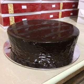 Create Your Own Design Dark Chocolate Cake