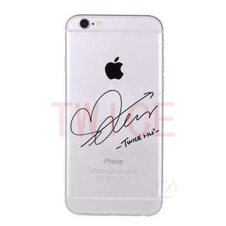 [PO] TWICE MEMBERS SIGNATURES PHONE CASE