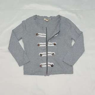 Forever 21 Zipped Cardigan