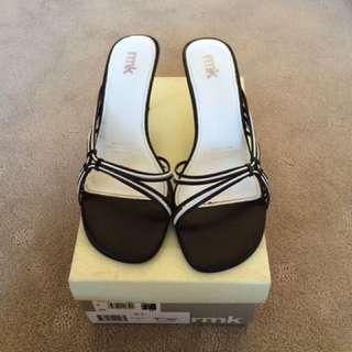 Rmk Black And White Heels